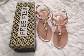Freefish Jelly Sandals Old Rose
