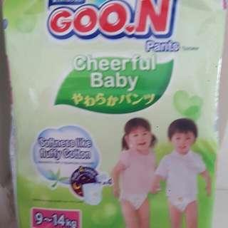 Goon pull up pants(thai version) L size