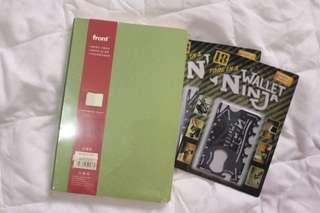 Notebook And Ninja Wallet