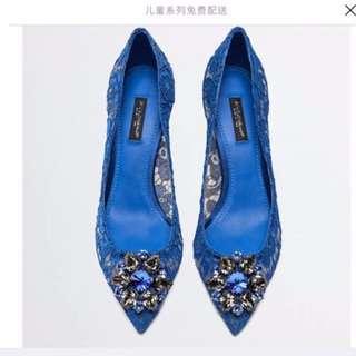 Dolce & Gabbana蕾丝高跟鞋