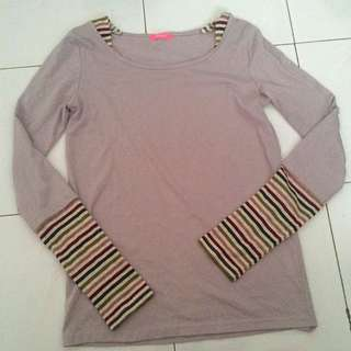 Stripes Grey T-shirt