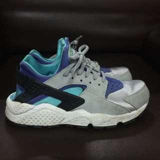 Nike武士鞋藍銀配色