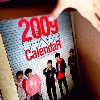 SHINee 2009 / 2010 / 2011 Official Desk Calendar