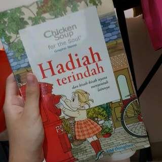 GRAPHIC NOVEL/ KOMIK CHICKEN SHOUP FOR THE SOUL : HADIAH TERINDAH