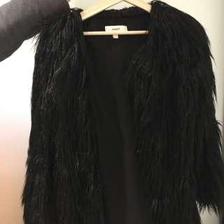 Cameo Faux Fur Coat Size S