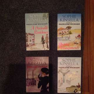 Sophie Kinsella Writing As Madeleine Wickham Collection