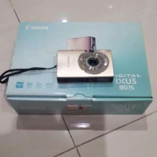 camera digital canon ixus 80 IS