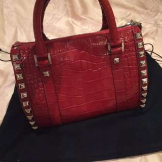 Versace Red Bag