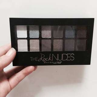 Maybelline The Rock Nudes眼影盤