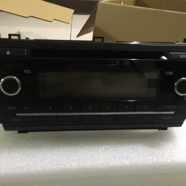 2015TOYOTA ALTIS 原廠DVD音響主機 全新車拆下 (含面板 不含線組) 全新 原廠音響 汽車音響