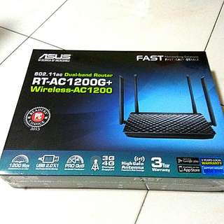 ALL NEW ASUS RT-AC1200G+