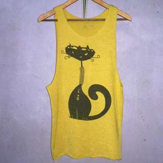 ► Yellow Tank Top