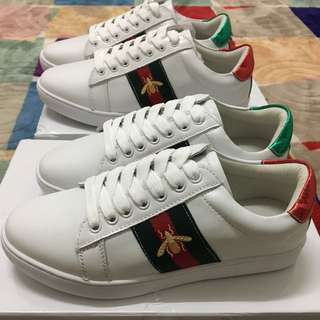 Ready Stock Inspired Gucci Sneakers Size 39