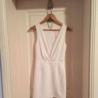 BNWT Isla Talulah White Full Moon Dress Size XS