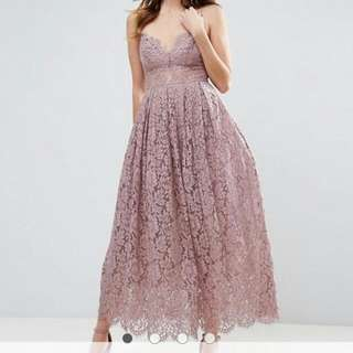 Size 12 Formal Cocktail Dress Lilac