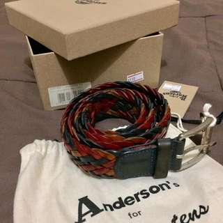 Anderson`s For Dr. Martens Belt