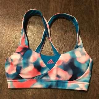 Adidas 愛迪達 運動內衣 短褲 一套賣