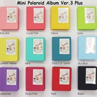 Instax Mini Polaroid Photo Album (64+1)