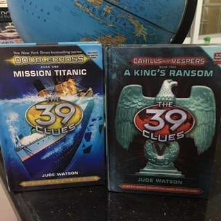 The 39 Clues Hardbound 2 For 450only