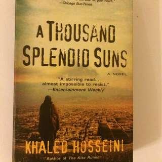A Thousand Splendid Suns Khaled Hosseini