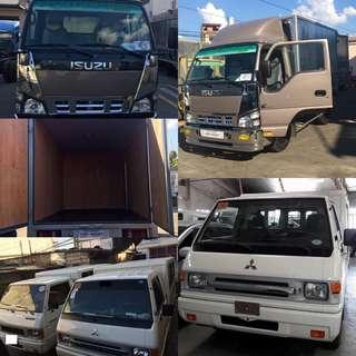 L300 FB van for rent or Isuzu Closed van for hire