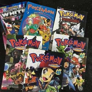 Pokemon 8books For 500 Only