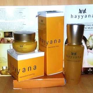 Paket Skincare Hayyana