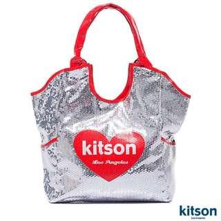 『大降價』Kitson 亮片托特包(紅)#轉轉來交換 #降價