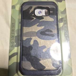 Blue Camo Armour Casing Samsung S6