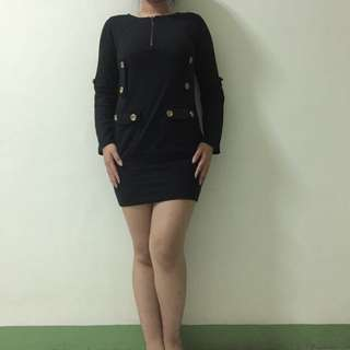 Dress Black / Dress Hitam