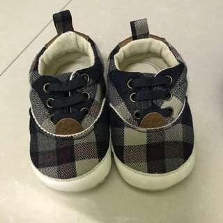 Zippy Checkered Boys Shoes