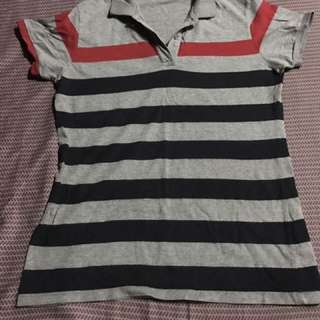 Bench Striped Polo Shirt