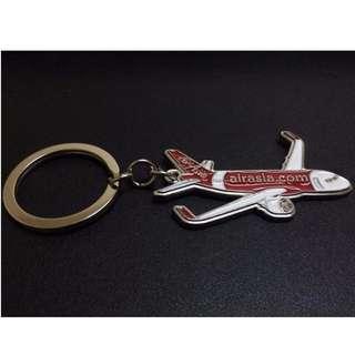 IN-FLIGHT AIRASIA AIRBUS A320-NEO KEY-CHAIN