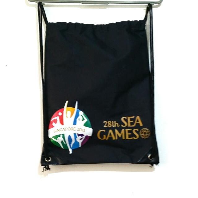 28th Sea Games Drawstring Backpack