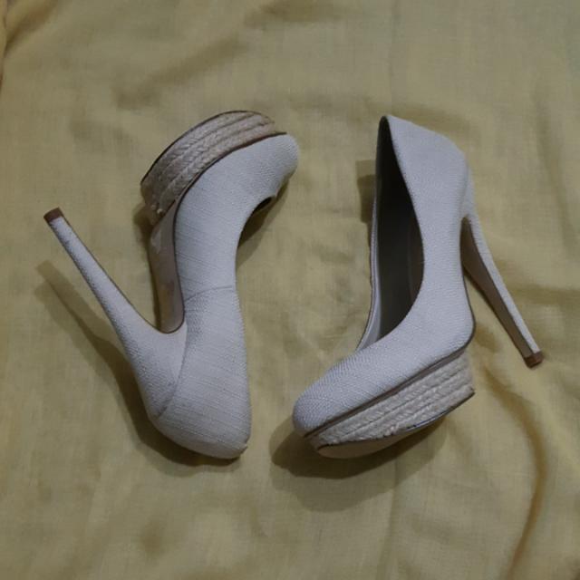 5 Inch Aldo Shoes In Beige