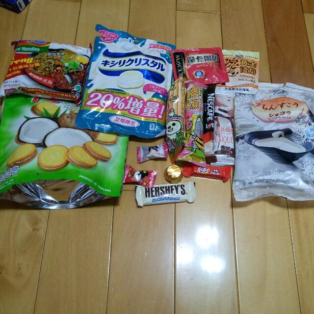 各式零食#購買賣場商品贈送