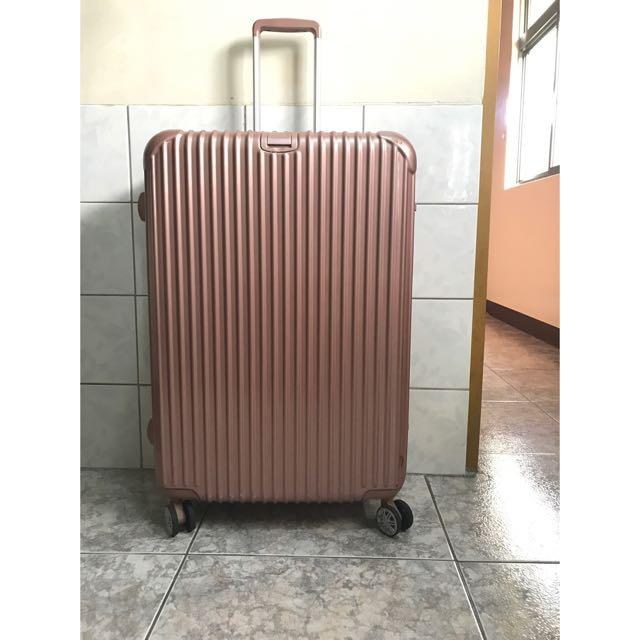 行李箱 29吋 玫瑰金