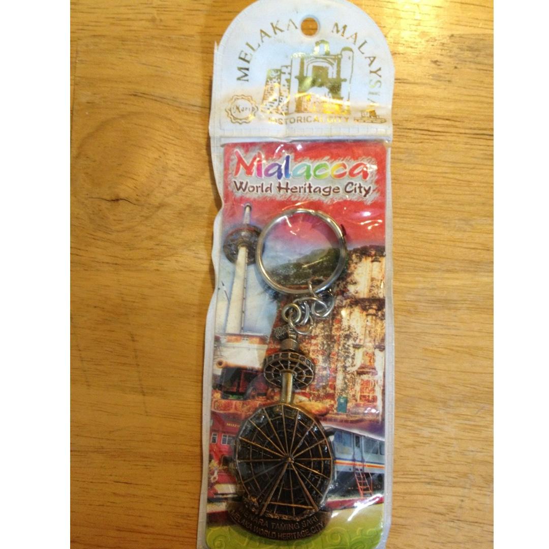 馬來西亞 世界遺址紀念品鑰匙圈