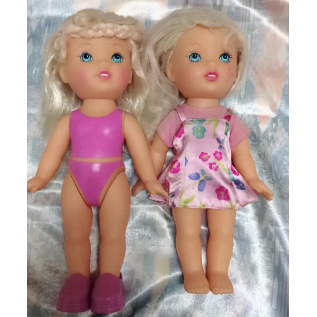 早期 乾淨 [孩之寶 Hasbro @1999 泳裝女孩] 女娃 洋娃娃 嬰兒