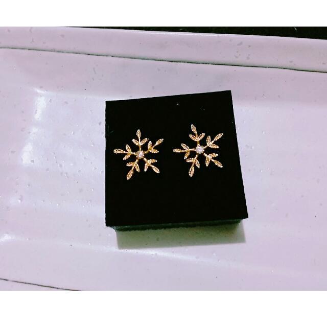 雪花耳環 Hannah  Jewelry