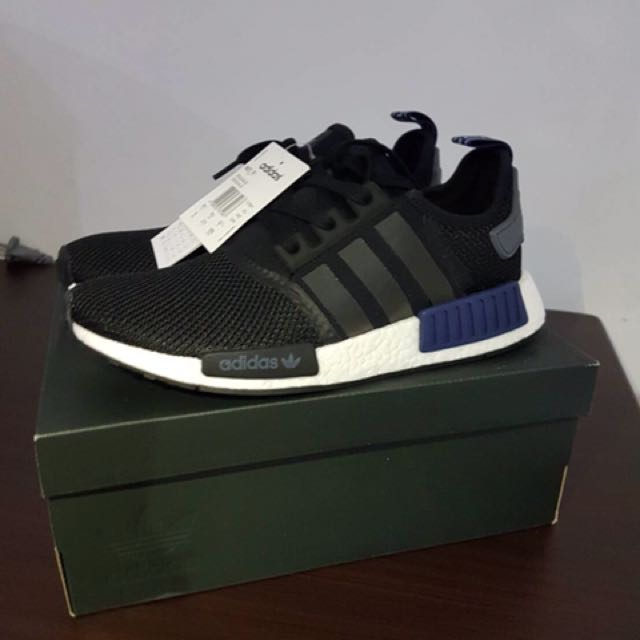 Adidas NMD R1 Black/navy AUTHENTIC