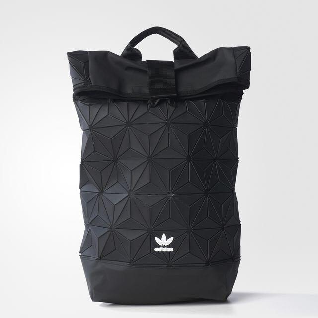 e1c060768f5f Adidas Originals Urban 3D Mesh Roll Up Backpack Issey Miyake