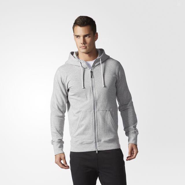 Adidas X REIGNING CHAMP 聯名外套 灰 M