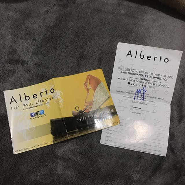 Alberto w/ free voucher