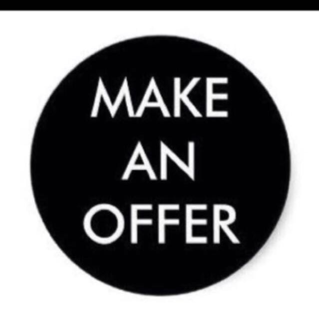 All items are 'make an offer' happy shopping