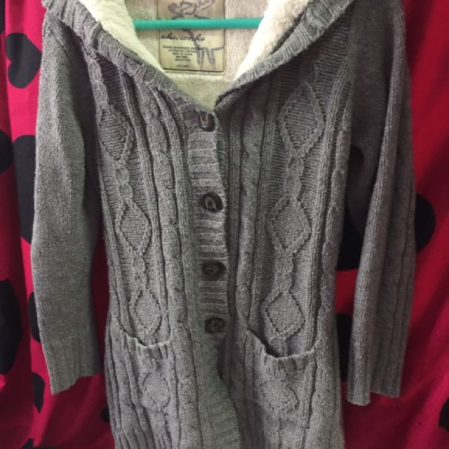 Ambercrombie Knitted Jacket