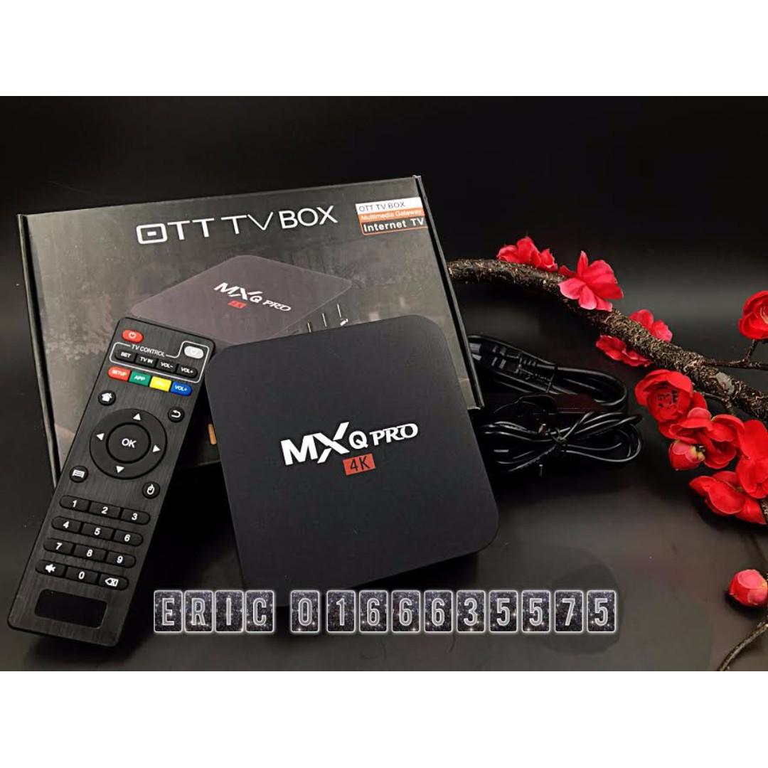 Android Tv Box Mxq Pro 4k Tvbox Electronics Tvs Entertainment