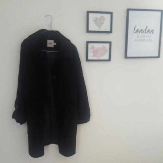 Asos Size 12 Womens Thick Coat
