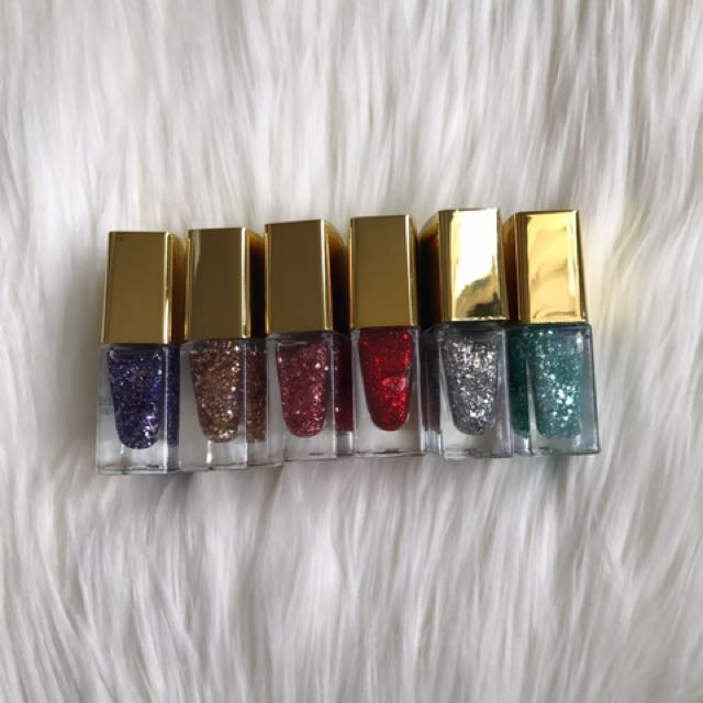 Assorted Sparkle Nail Polishes - Forever21