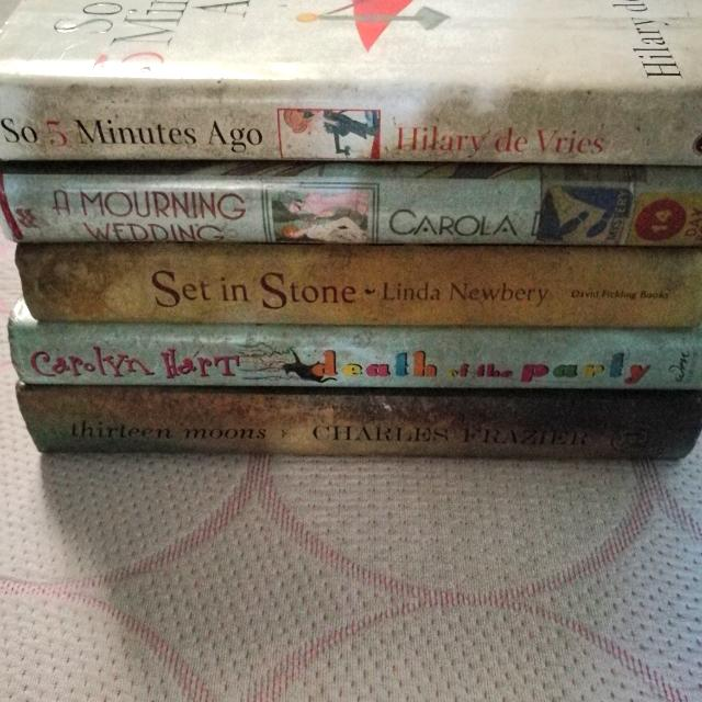 Assorted Women's Fiction Books